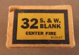Western 32 S&W Blank Ammo 1945-47 - 3 of 7