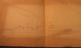 U.S.S. Tusk Submarine Plan Drawings 1945 - 4 of 11
