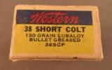 Western 38 Short Colt Ammo - 4 of 6