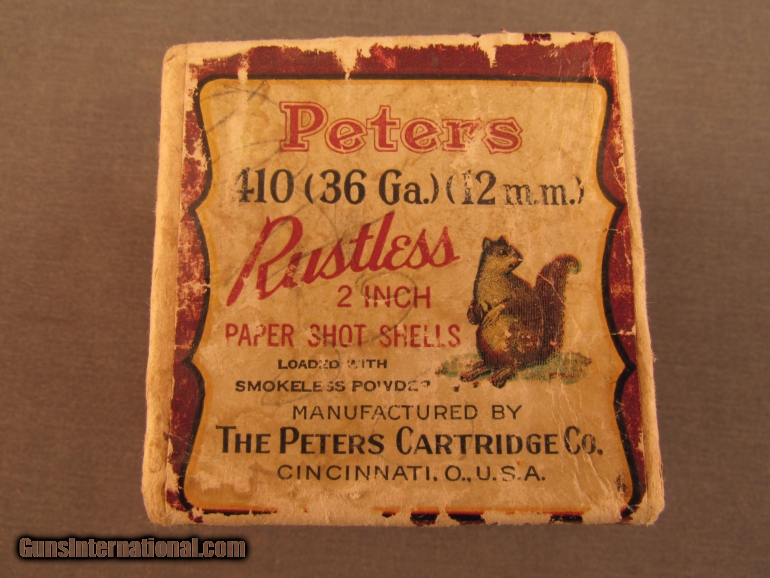 Peters 2 Inch 410 No 12 Box