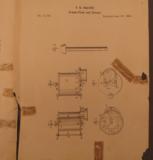 Rare US 1854 Peavey Multi Shot Loader - 10 of 11