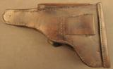Bulgarian Possible Party leader marked Luger Holster - 3 of 11