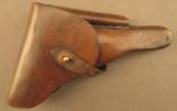Bulgarian Possible Party leader marked Luger Holster - 1 of 11