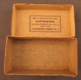 EMPTY Winchester 38 Smith & Wesson Rifle Box - 7 of 7