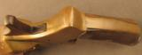 Unusual French Brass Saw Handle Flare Pistol - 7 of 11