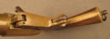 Unusual French Brass Saw Handle Flare Pistol - 9 of 11