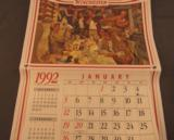 Winchester Ammunition 1992 Calendar - 1 of 5