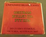 Bertram 9.5x47R Brass 25 Pieces - 2 of 3