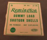 Remington 20 GA Dummy Load Shotgun Shells