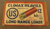 US Cartridge Co Climax Heavies 12 GA Empty Box - 2 of 6