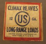 US Cartridge Co Climax Heavies 12 GA Empty Box - 1 of 6