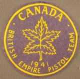 2 Vintage Canadian Pistol Patches 1938-1941 - 2 of 6