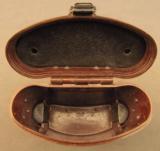 WW2 German Binoculars & Rare Bakelite Case - 8 of 12