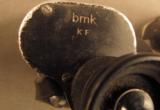 WW2 German Binoculars & Rare Bakelite Case - 12 of 12