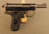 Webley and Scott 1905 Pocket Pistol Transitional