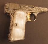 Fine Browning Renaissance Model 1955 Pocket Pistol - 2 of 11