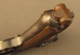 1918 German Artillery Luger Pistol with Matching Shoulder Stock etc. - 11 of 12