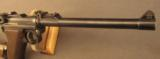 1918 German Artillery Luger Pistol with Matching Shoulder Stock etc. - 4 of 12