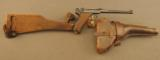 1918 German Artillery Luger Pistol with Matching Shoulder Stock etc. - 1 of 12