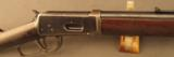 "Winchester M1894 Rifle with 20"" barrel 25-35 - 3 of 12"