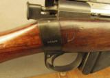 Rare B.S.A. Commercial Long Lee-Enfield Match Rifle Fulton Regulated - 4 of 12