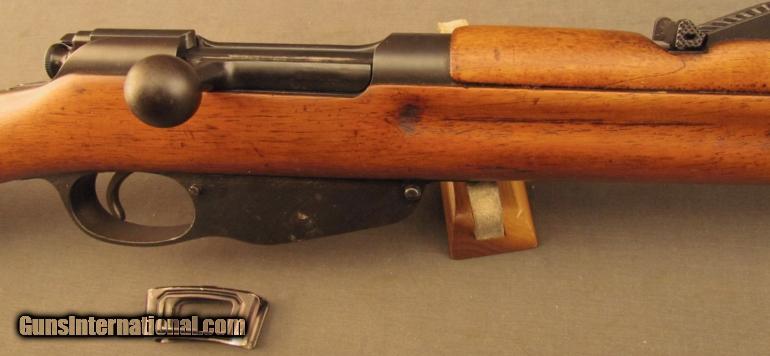 Dutch Mannlicher No  4 Bicycle Carbine
