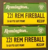 Remington .221 Fireball Ammo 2 Boxes (40 rounds) - 6 of 8