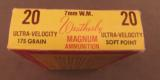 7mm Weatherby magnum ammo Tiger Box 20 Rnds - 6 of 7