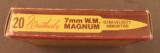 7mm Weatherby magnum ammo Tiger Box 20 Rnds - 5 of 7