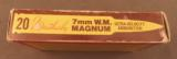7mm Weatherby magnum ammo Tiger Box 20 Rnds - 3 of 7