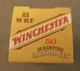 Winchester 22 WRF Ammo 50 Rnd Box - 2 of 3
