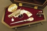 Engraved Colt Revolver Vampire Slayer Detective Special by D'Angelo - 1 of 12