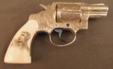 Engraved Colt Revolver Vampire Slayer Detective Special by D'Angelo - 3 of 12