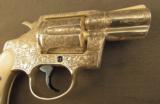 Engraved Colt Revolver Vampire Slayer Detective Special by D'Angelo - 5 of 12