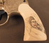 Engraved Colt Revolver Vampire Slayer Detective Special by D'Angelo - 7 of 12