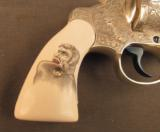Engraved Colt Revolver Vampire Slayer Detective Special by D'Angelo - 4 of 12