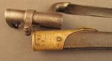 English Pattern 185 Martini Enfield Bayonet - 6 of 6