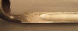 English Pattern 185 Martini Enfield Bayonet - 4 of 6