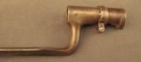 US 1873 Trapdoor Rifle Bayonet - 5 of 6
