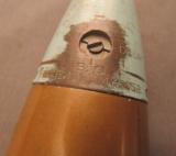 World War II Drill Round U.S. Military 75mm Shell - 4 of 4