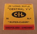 CIL Central V's 22 LR 1957 Box - 2 of 3