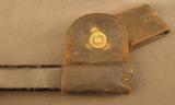 US 1873 Trapdoor Bayonet In NJ Scabbard - 5 of 7