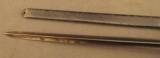 US 1873 Trapdoor Bayonet In NJ Scabbard - 6 of 7