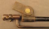 US 1873 Trapdoor Bayonet In NJ Scabbard - 2 of 7