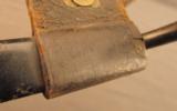 US 1873 Trapdoor Bayonet In NJ Scabbard - 7 of 7
