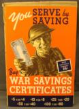 WWII Canadian War Bond Counter Poster - 1 of 8
