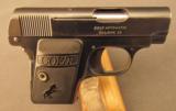 Colt Vest Pocket 1908 Hammerless Pistol