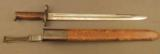 Early 1905 Bayonet In Second Type Scabbard 1912 Date - 1 of 9