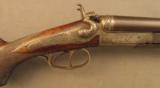 Antique German 16 bore Double Gun by Albrecht