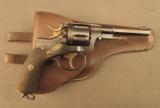 Model 1887 Swedish Revolver by Husqvarna - 1 of 12